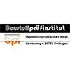 Baustoffprüfinstitut Oettingen Ingenieurgesellschaft mbH Lindenweg 4 D – 86732 Oettingen i. Bay. Telefon: 09082/8555 Fax: 09082/8944